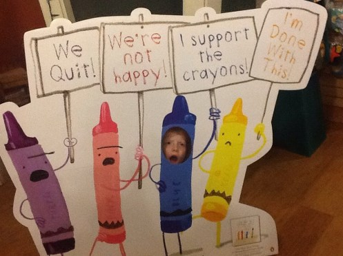 Sam Support The Crayons