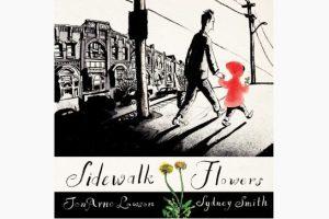 sidewalk flowers 1