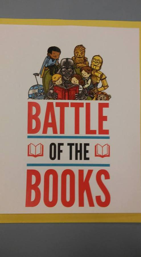 Battle of the books Star Wars