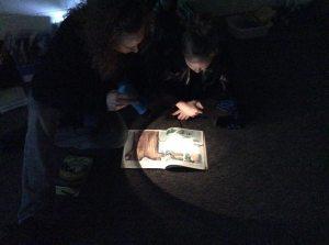 flashlight room