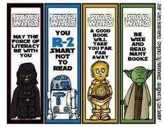 star wars bookmark