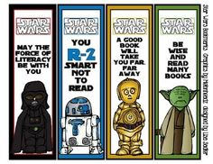 star wars bookmark