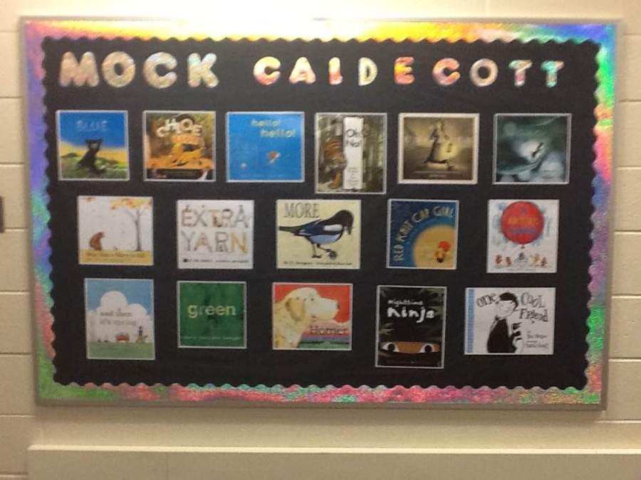 Mock Caldecott books