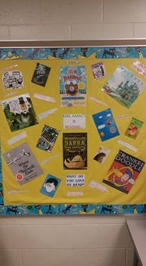 Reading Life library board
